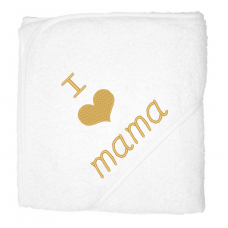 I love mama goud (babycape)