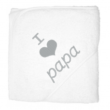 I love papa zilver (babycape)