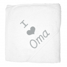 I love oma zilver (babycape)