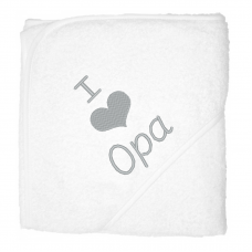 I love opa zilver (babycape)