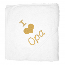 I love opa goud (babycape)