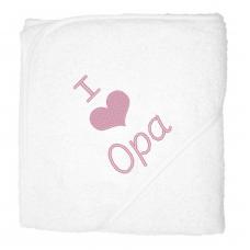 I love opa lichtroze (babycape)
