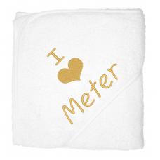 I love meter goud (babycape)