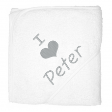 I love peter zilver (babycape)