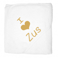 I love zus goud (babycape)