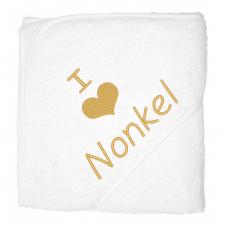 I love nonkel goud (babycape)