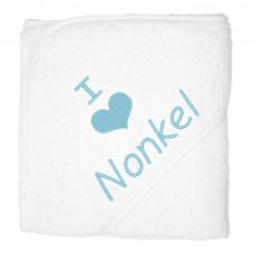 I love nonkel lichblauw (babycape)