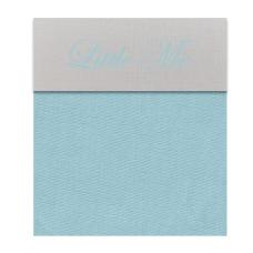 Babybed laken lichtblauw (120x150)