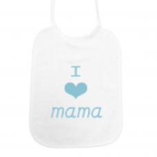 I love mama lichblauw (slab)