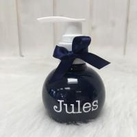 Zeeppompje marineblauwe zeep  Jules