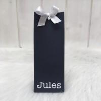 Hoog zakje marine blauw Jules