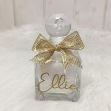 Parfumflesje Vierkant Glas Met Glasstop - 80 Ml Ellie