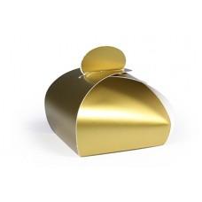 Bonbondoosje mat goud