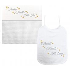 Twinkel Twinkel Little Star zilver/goud (laken & slab)