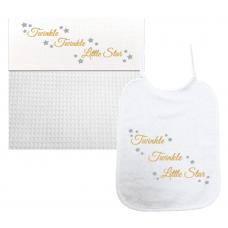 Twinkel Twinkel Little Star goud/zilver (laken & slab)