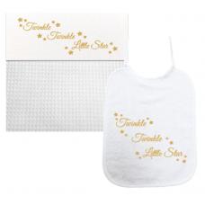 Twinkel Twinkel Little Star goud (laken & slab)