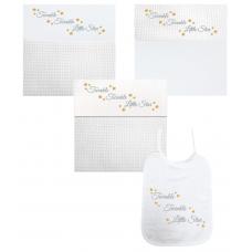 Twinkel Twinkel Little Star zilver/goud (deken, laken & slab)