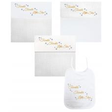 Twinkel Twinkel Little Star goud/zilver (deken, laken & slab)