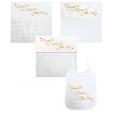 Twinkel Twinkel Little Star goud (deken, laken & slab)