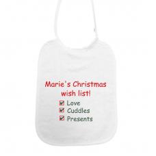 Naam christmas checklist! rood/groen (slab)