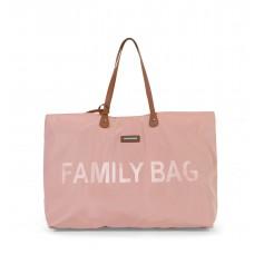 Family Bag Verzorgingstas - roze koper
