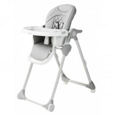 B-Dinner Chair Wheely Grijs