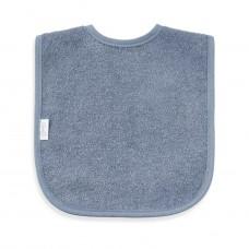 Slab uni line velcro grijs/blauw (mogelijk met naam)
