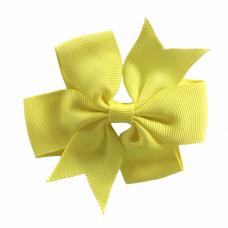 Haarspeldje geel