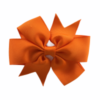 Haarspeldje licht oranje