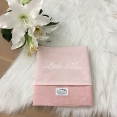 Zomerdeken suéde roze (75x100cm)