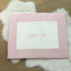 Parkkleed wafel licht roze
