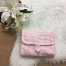 Verzorgingshoes verzorgingstas wafel roze
