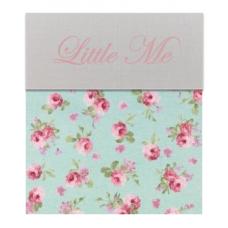Babybed laken Isabelle roos klein (120x150)
