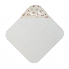 Babycape Panama roos klein