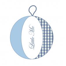 Speelbal Vichy Blauw/babyblauw