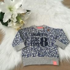 BLM Sweater light grey koraal