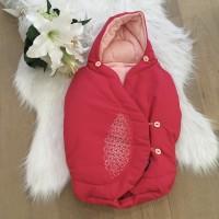 BLM Maxi-cosi pebble voetenzak roze