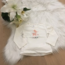 BLM T-shirt Ecru Bambi