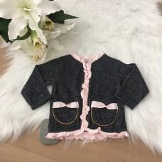 BLM Babyjasje black pockets pink