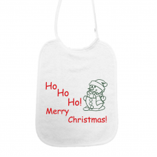 Ho Ho Ho Merry Christmas! sneeuwman (slab)