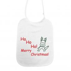 Ho Ho Ho Merry Christmas! zwaaiende Rudolf (slab)