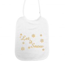 Let it snow! Sneeuwsterren met swarovski stenen goud (slab)