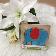 BLMS Mini Puzzel - olifant +12m