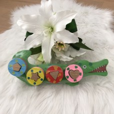 BLM Puzzel Krokodil
