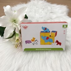 BLMS Blokken puzzel & dieren