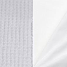 Mandje verzorgingsproducten wafel wit (20x20)