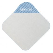 Babycape wafel licht blauw