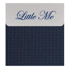 Babybed laken wafel navy (120x150)