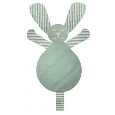 Knuffel konijn wafel munt